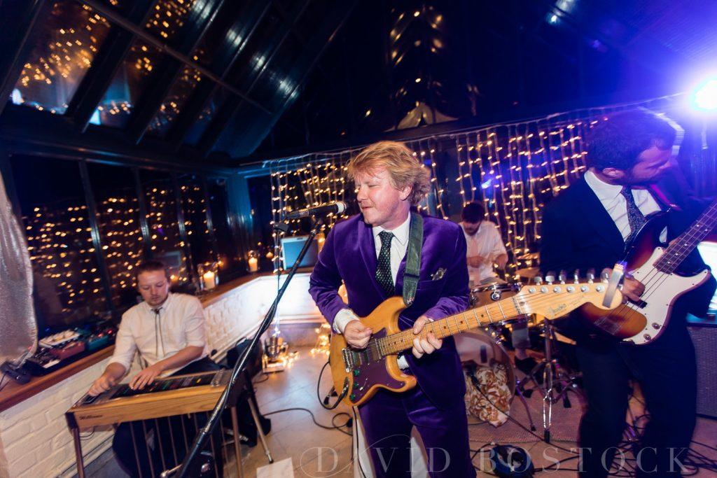 The Dairy Waddesdon wedding band