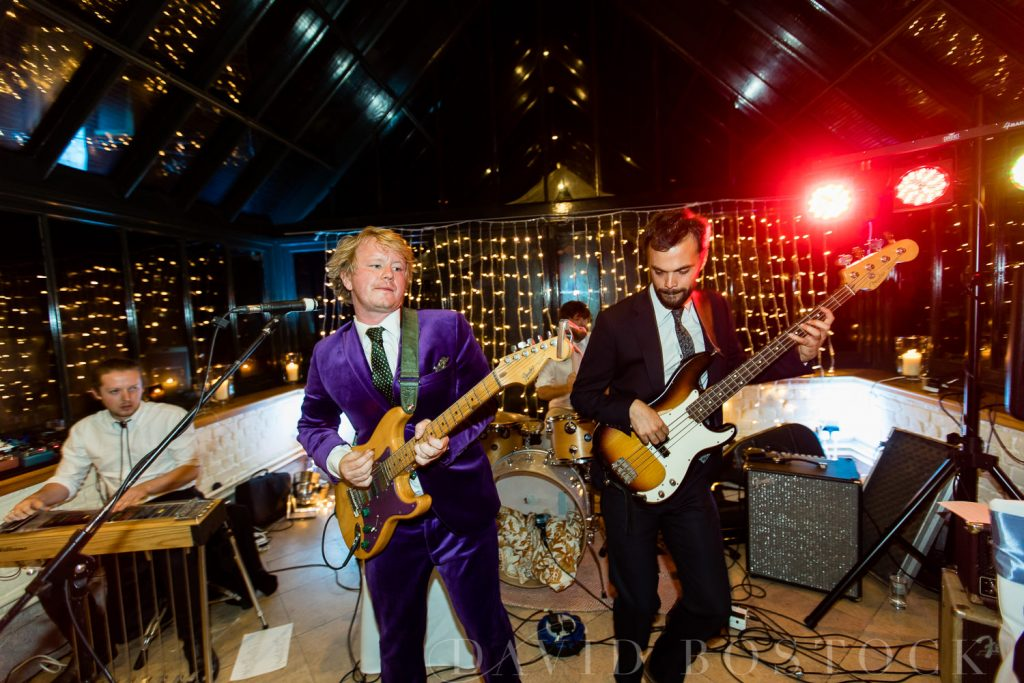 The Dairy Waddesdon wedding band lively