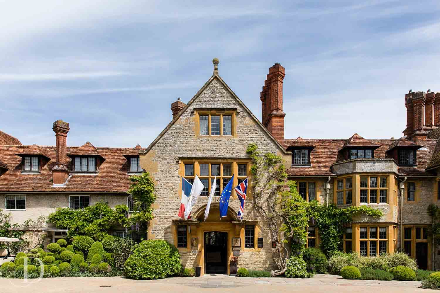 Le Manoir aux Quat'Saisons wedding