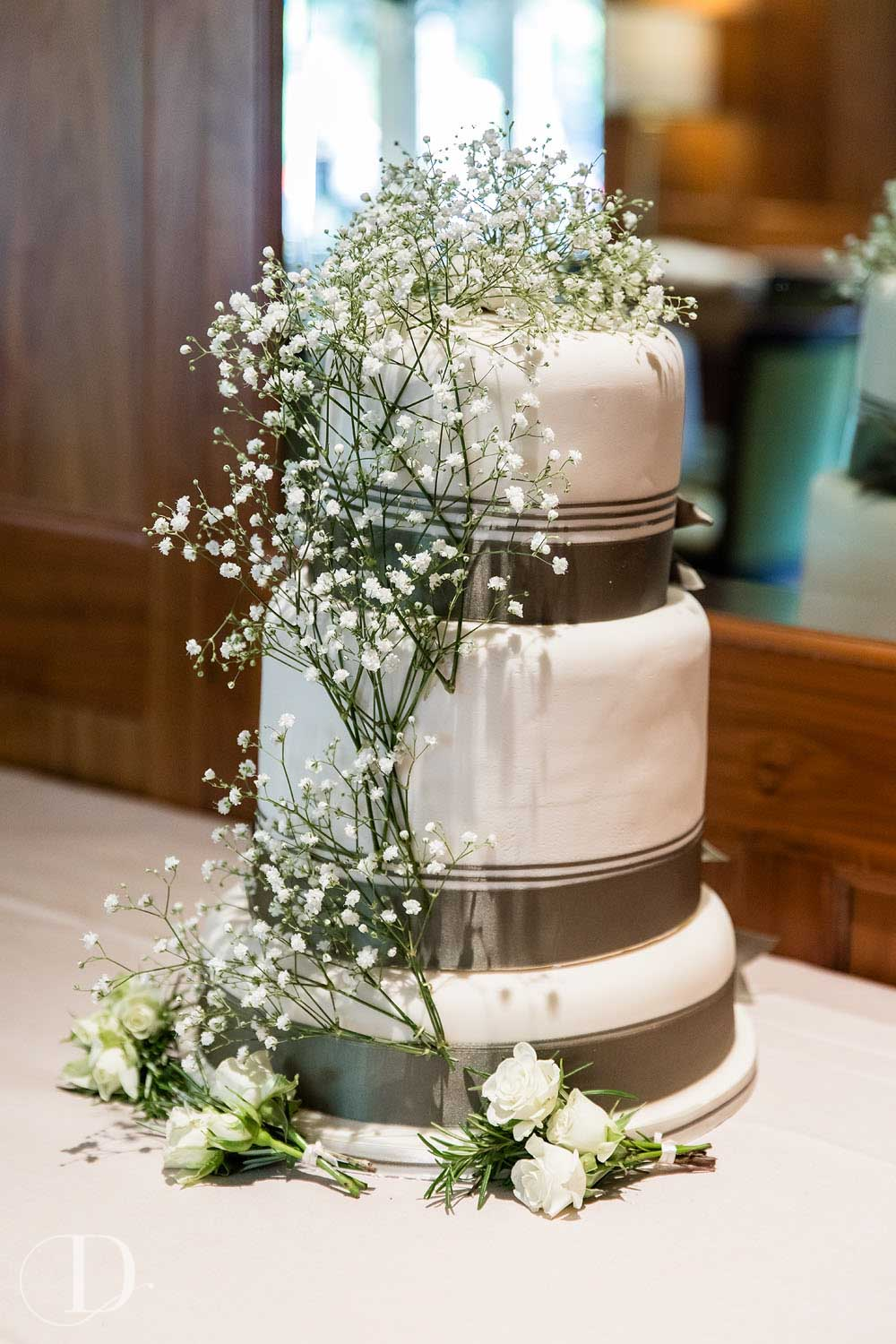 Le Manoir aux Quat'Saisons wedding cake