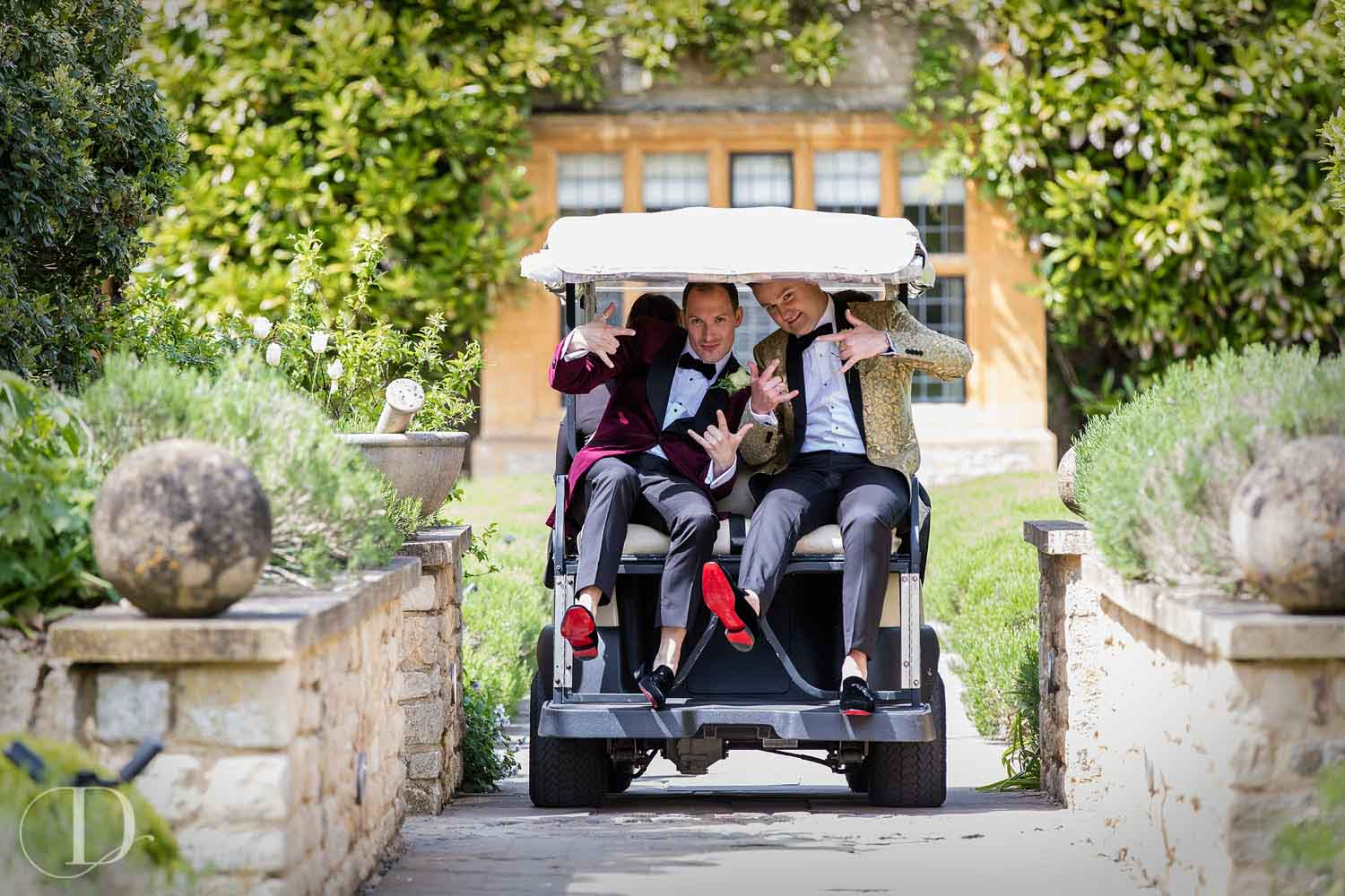 Le Manoir aux Quat'Saisons wedding transport