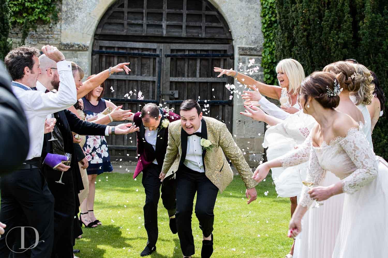 Le Manoir aux Quat'Saisons wedding confetti