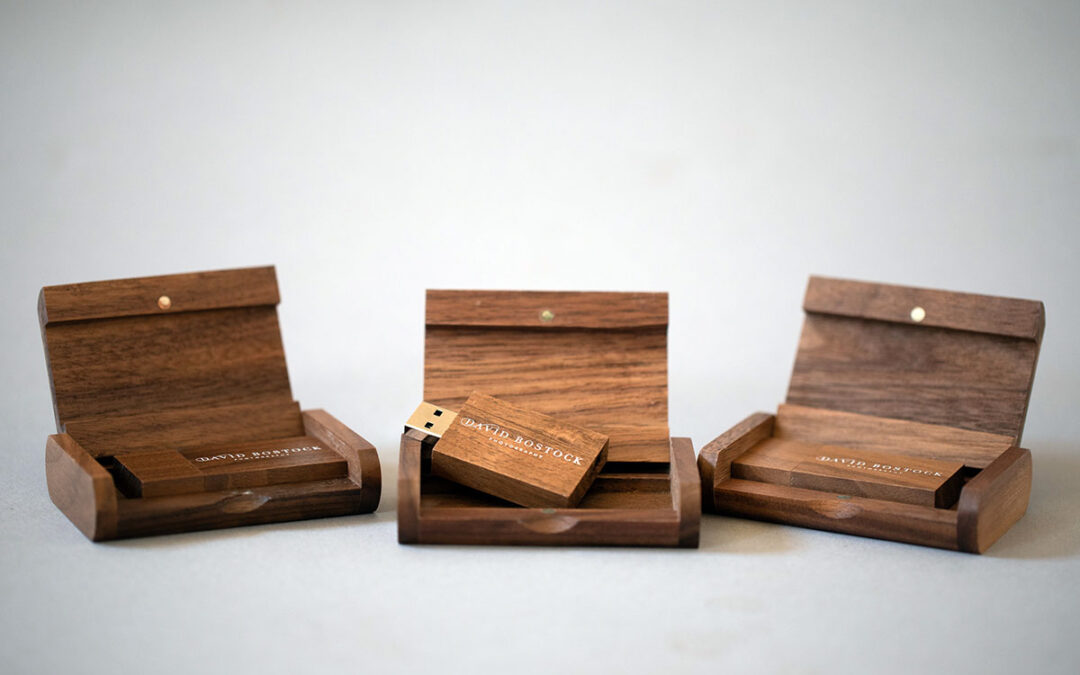 New Genuine Wooden USB drives and matching Boxes are here.