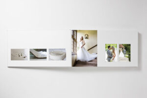 queensberry flusmount wedding album