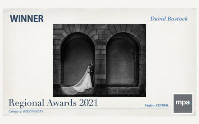 DELIGHTED to be MPA WEDDING DAY WINNER 2021